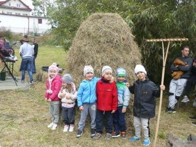 Przedszkolaki na lubelskich sianokosach